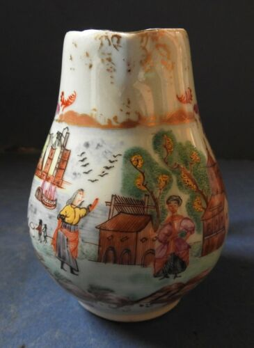 CHINESE PORCELAIN FAMILLE ROSE JUG  - EUROPEAN SUBJECT - PETER THE GREAT