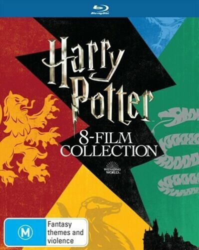 Harry Potter Limited Edition 8 Film Collection Blu-Ray BRAND NEW Region B