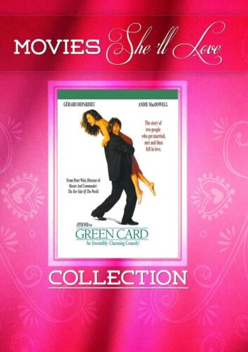 Green Card (DVD) Gérard Depardieu Andie MacDowell [All Regions] NEW/SEALED