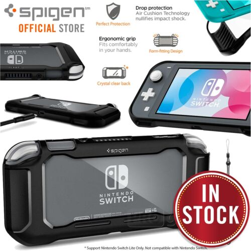 Genuine Spigen Rugged Armor Resilient Soft Cover for Nintendo Switch Lite Case