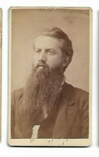 Gentleman with long beard; Photo by Graham, Athens, Ohio  (4723)