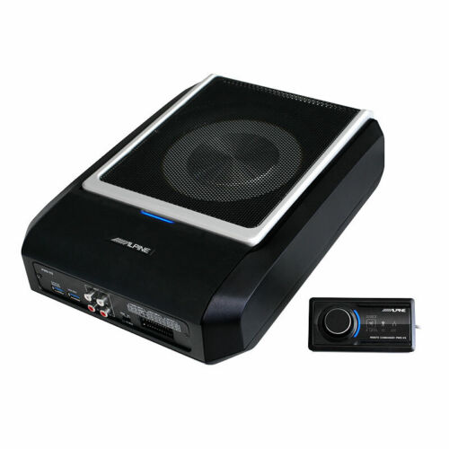 Alpine PWD-X5 All-in-one compact Subwoofer, Amplifier and DSP