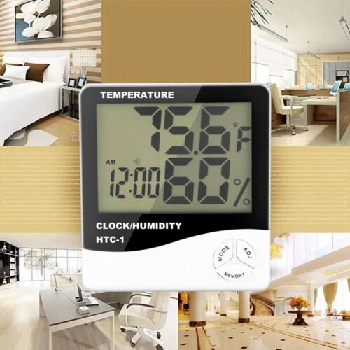 LCD Digital Temperature Humidity Meter Home Indoor hygrometer thermometer Weathe