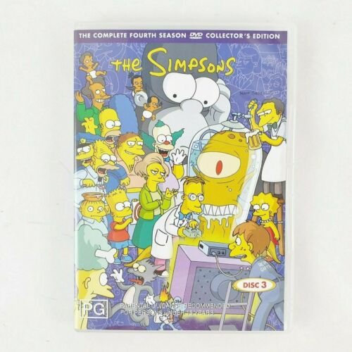D1 The Simpsons 4th Season Collectors Edition 2 DVD DISCS