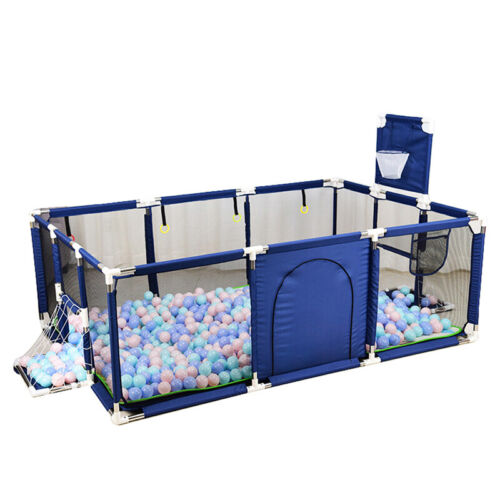 Baby Safety Play Yard Kid Activity Center Toddler Folding Indoor Outdoor Playpen