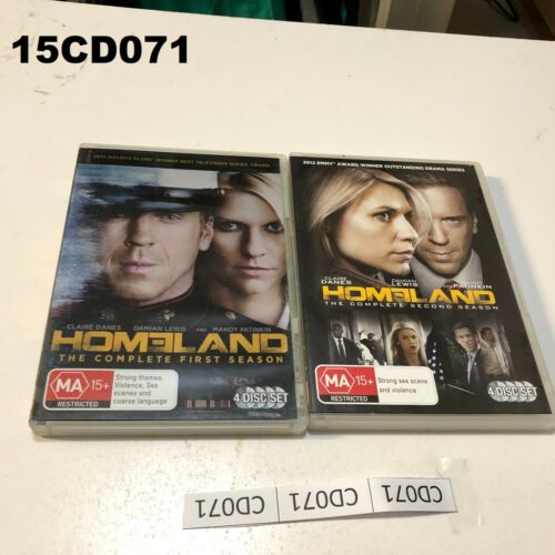 Homeland Complete First and Second Season  Region 4    LOT15 15CD071