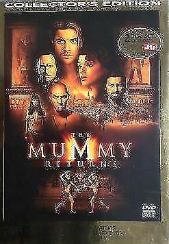 THE MUMMY RETURNS Collectors Edition 2 disc (DVD) brand new sealed  t747