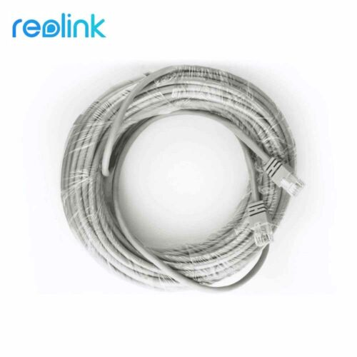 18M 59ft CAT5 Network Cable RJ45 Ethernet Cord for PoE Security Camera System
