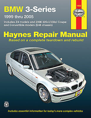 BMW 3 Series E46 Repair Manual 1999-2005