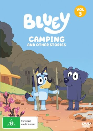 Bluey Volume 5 Camping and Other Stories DVD Region 4 NEW