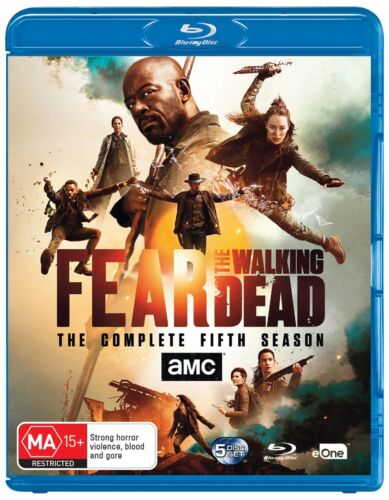 Fear the Walking Dead The Complete Fifth Season 5 Series Five Box Set Blu-ray