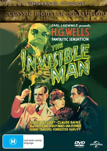 The Invisible Man DVD Region 4 NEW
