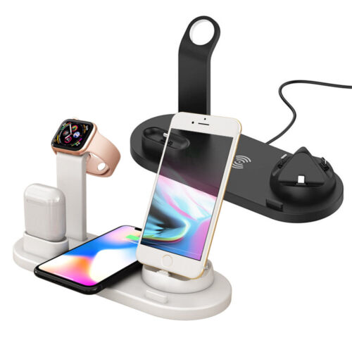 3IN 1 USB Qi Wireless Charger For Airpods Pro & iWatch 5 4 3 For i Phone 11 8 XS
