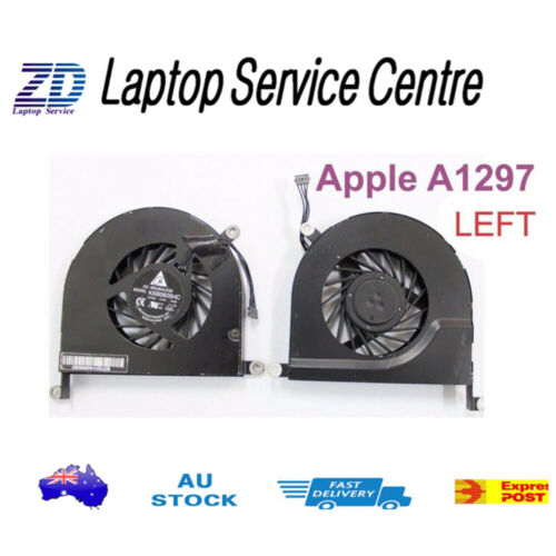 """Brand New CPU Cooling Fan For Apple Macbook Pro 17"""" Unibody A1297 (left),"""