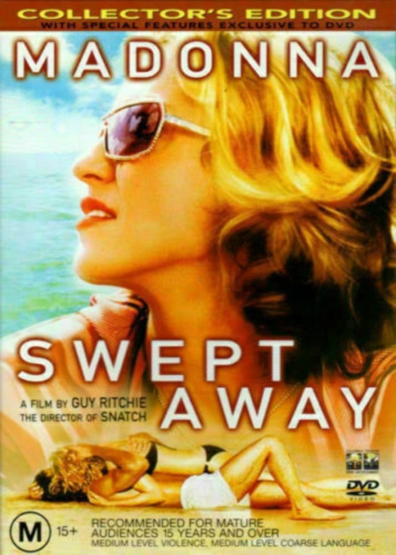 SWEPT AWAY (DVD) *Madonna* very good condition  t98