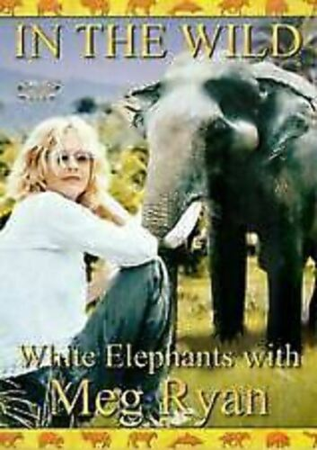 In The Wild - White Elephants With Meg Ryan Wildlife Series of the Stars t108