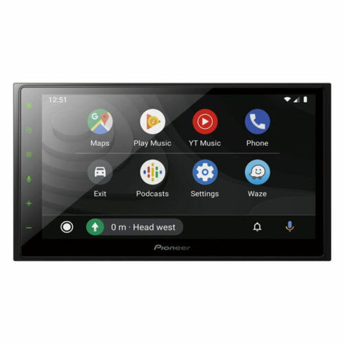 Pioneer DMHZ5350BT Capacitive CarPlay Android Auto and BT