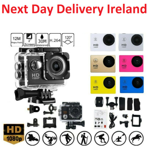 1080P Waterproof Pro Sports Action Camera DVR Recorder Camcorder Go