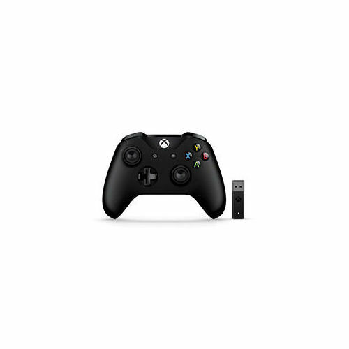Microsoft Xbox Controller and Wireless Adapter Black