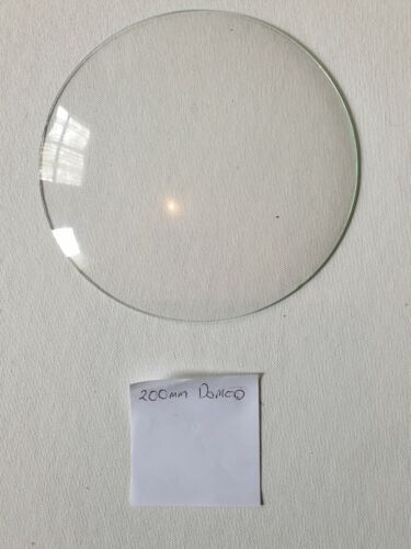 Barometer replacement glass - 200mm Domed