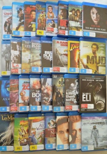 New & Used Blu Rays Action Drama Comedy The Godfather Planet Of The Apes & More!