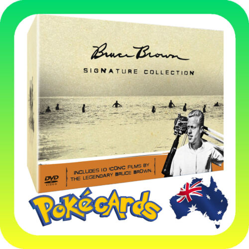 BRUCE BROWN SIGNATURE COLLECTION -  PAL R4 DVD - FREE SHIPPING!
