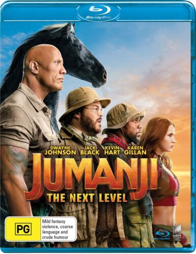 Jumanji The Next Level Blu-ray Region B NEW