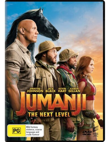 Jumanji The Next Level DVD Region 4 NEW