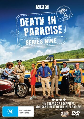 Death in Paradise Series 9 Season 9 Box Set DVD Region 4 NEW // PRE-ORDER <br/> *** PRE-ORDER *** EXPECTED DELIVERY DATE 08/04/2020 ***
