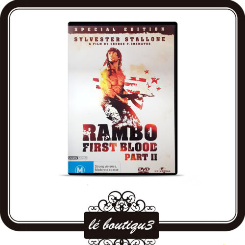First Blood II - Rambo DVD Special Edition