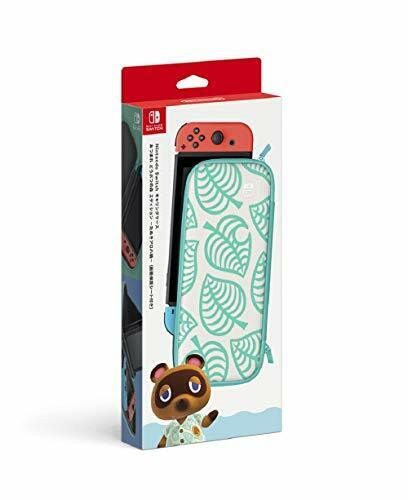 Nintendo Switch Carrying Case Collected Animal Crossing Edition ALOHA ver