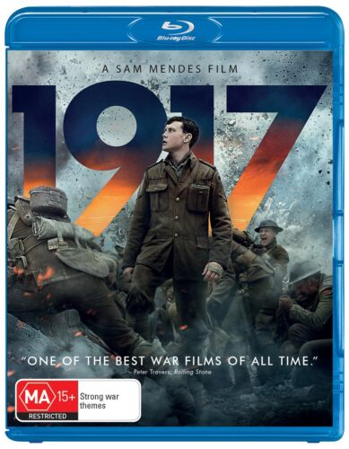 1917 Blu-ray Region B NEW // PRE-ORDER for 22/04/2020 <br/> *** PRE-ORDER *** EXPECTED DELIVERY DATE 22/04/2020 ***