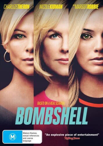 Bombshell DVD Region 4 NEW // PRE-ORDER for 22/04/2020 <br/> *** PRE-ORDER *** EXPECTED DELIVERY DATE 22/04/2020 ***