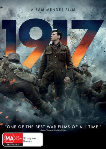 1917 DVD Region 4 NEW // PRE-ORDER for 22/04/2020 <br/> *** PRE-ORDER *** EXPECTED DELIVERY DATE 22/04/2020 ***