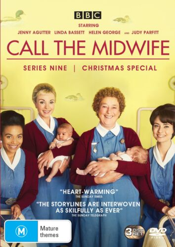 Call the Midwife Series 9 Season 9 Box Set DVD Region 4 NEW // PRE-ORDER <br/> *** PRE-ORDER *** EXPECTED DELIVERY DATE 22/04/2020 ***