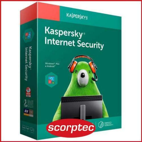Kaspersky KL1939ECCFS Internet Security *Key Only*, 3 Devices, 1 Year