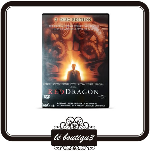 Red Dragon DVD 2 disc edition Anthony Hopkins