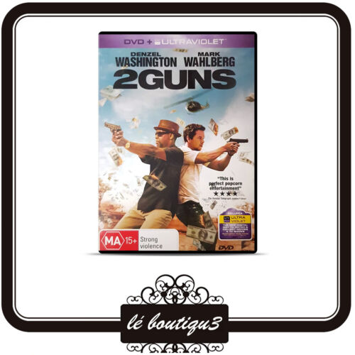 2 Guns DVD Denzel Washington Mark Wahlberg