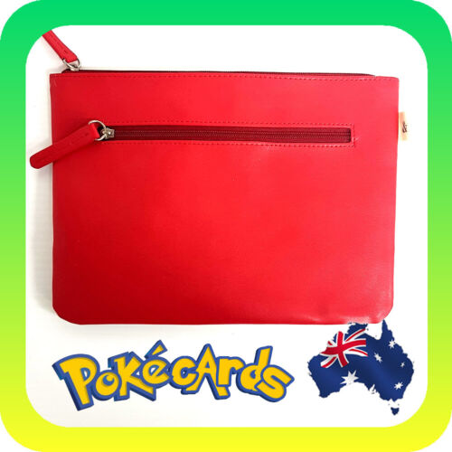 And & Beige Red Pencil Case