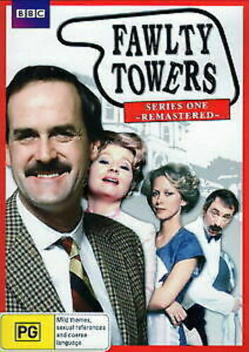 FAWLTY TOWERS - SERIES ONE REMASTERED - very good condition  t000