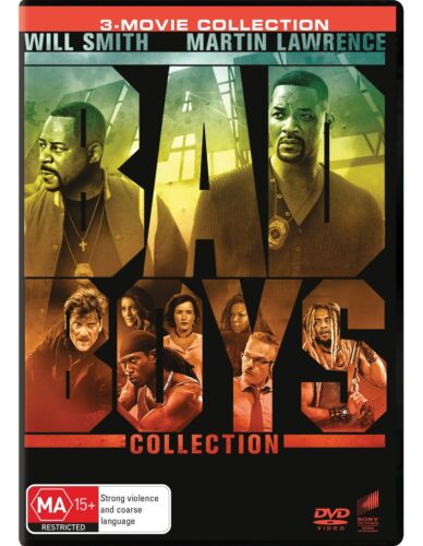 Bad Boys / Bad Boys II / Bad Boys for Life Box Set DVD Region 4 NEW <br/> *** PRE-ORDER *** EXPECTED DELIVERY DATE 29/04/2020 ***