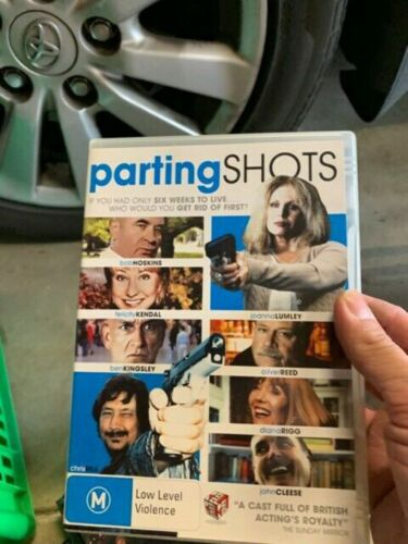 PARTING SHOTS  bob hoskins john cleese very good condition dvd region 4 t000