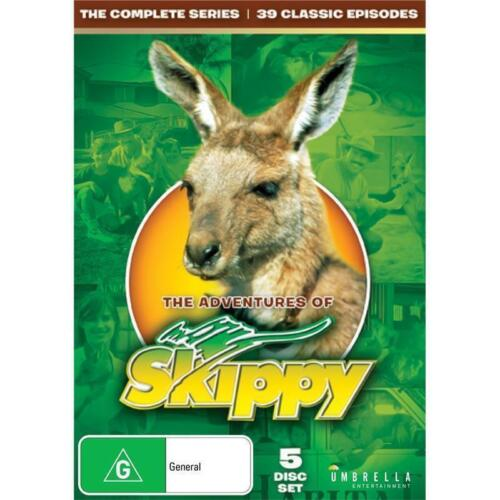 The Adventures of Skippy - Complete Series (DVD 5 Disc) NEW/SEALED