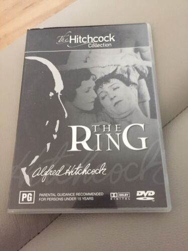 """ALFRED HITCHCOCK 'S """"The Ring"""" 1927 DVD"""