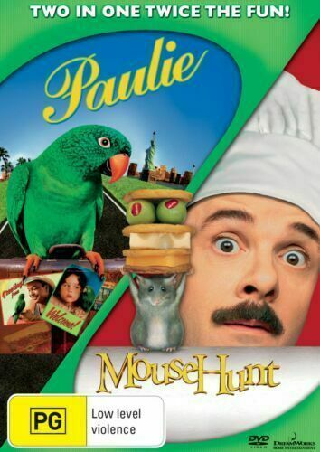 PAULIE + MOUSEHUNT - BRAND NEW & SEALED COMEDY DVD