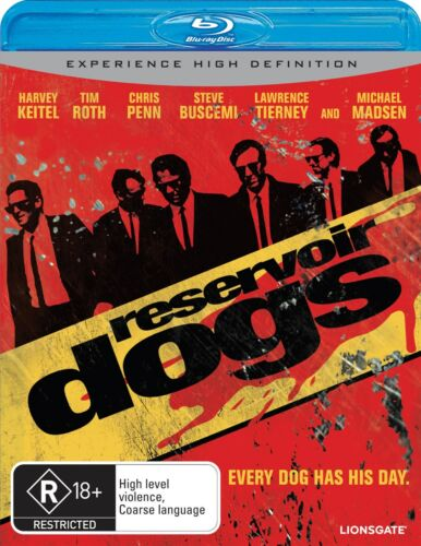 Reservoir Dogs Blu-ray Region B NEW
