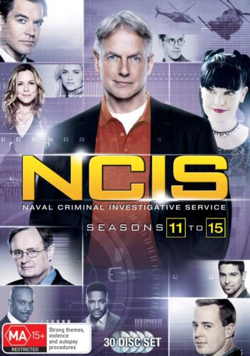 NCIS Seasons 11 15 Box Set DVD Region 4 NEW