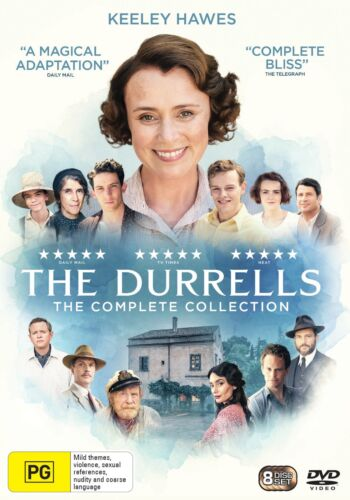 The Durrells The Complete Collection Box Set DVD Region 4 NEW