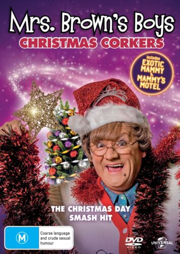 Mrs Browns Boys Christmas Corkers DVD Region 4 NEW