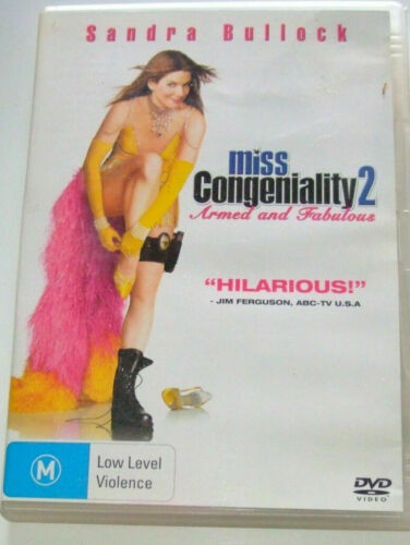Miss Congeniality 2 Two DVD Armed and Fabulous - BRAND NEW & SEALED